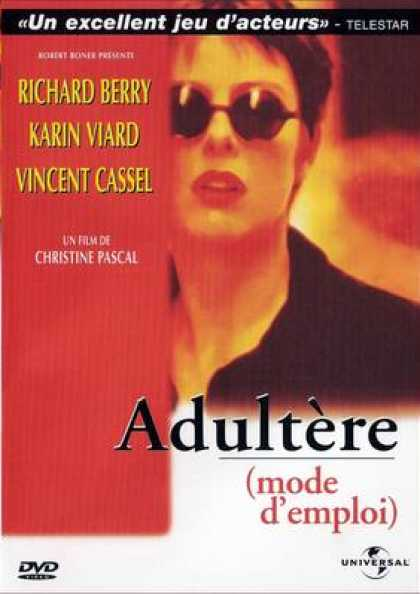French DVDs - Adultere Mode D'emploi