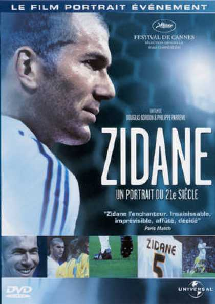 French DVDs - Zidane 21st Century Portrait