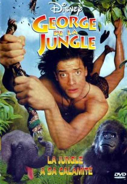 French DVDs - George De La Jungle