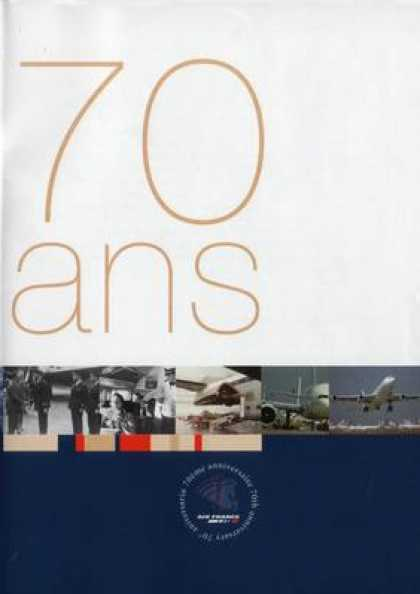 French DVDs - Air France 70 Ans
