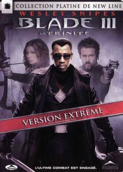 French DVDs - Blade 3 French Canadian