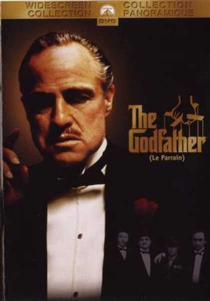 French DVDs - The Godfather 1 French Canadian
