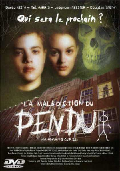 French DVDs - La Malediction Du Pendu