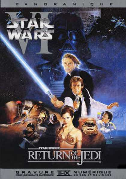 French DVDs - Star Wars Return Of The Jedi