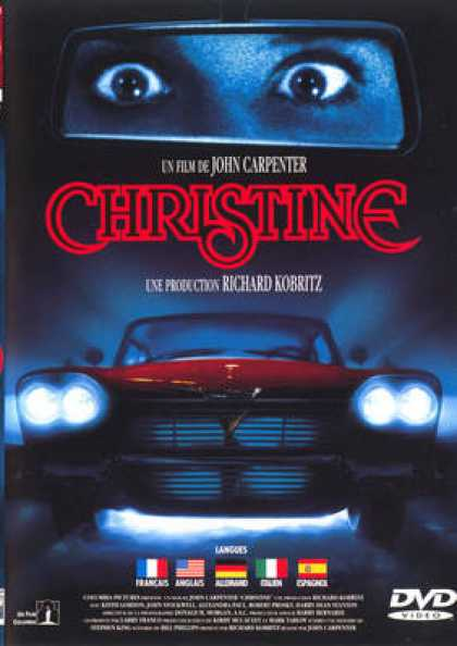 French DVDs - Christine