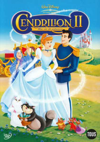 French DVDs - Cendrillon 2