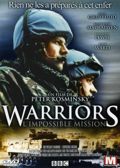 French DVDs - Warriors Impossible Mission