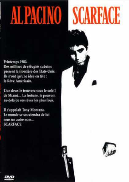 French DVDs - Scarface