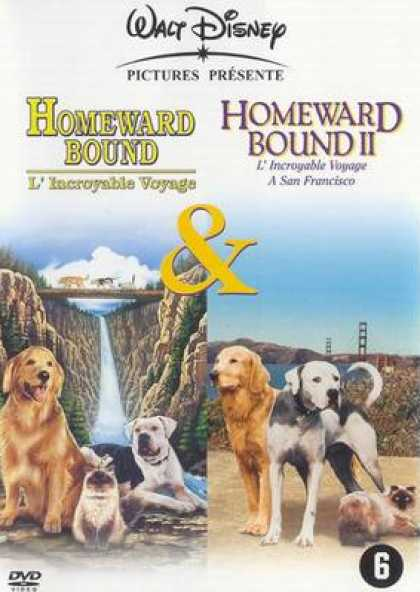 French DVDs - Homeward Bound 1 And 2