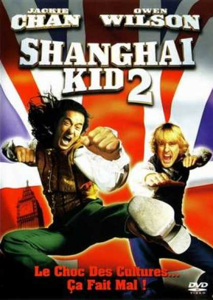 French DVDs - Shanghai Kid 2
