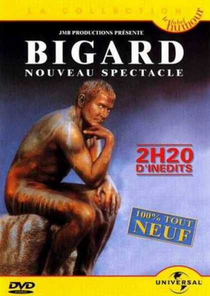 French DVDs - Bigard The New One