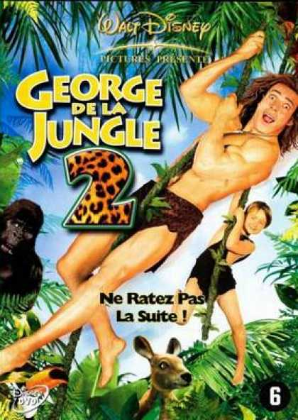 French DVDs - George Of The Jungle 2