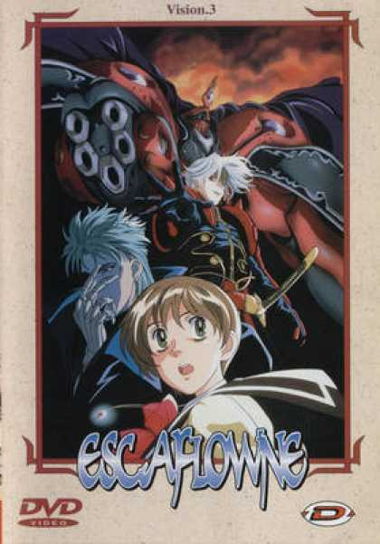 French DVDs - Escaflowne - Vision 3