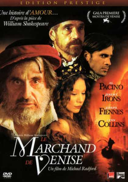 French DVDs - Le Marchand De Venise