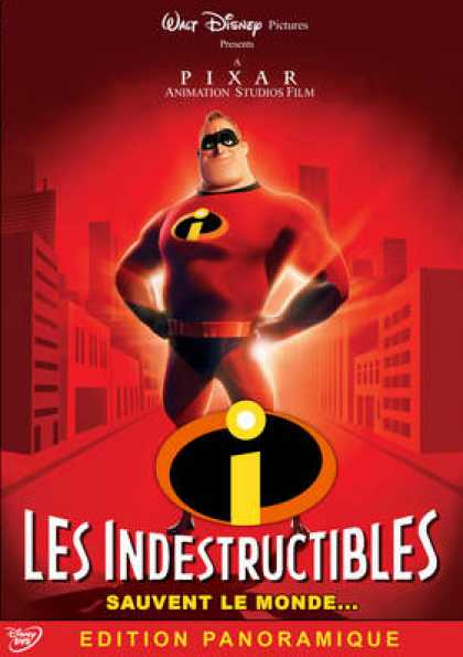 French DVDs - The Incredibles