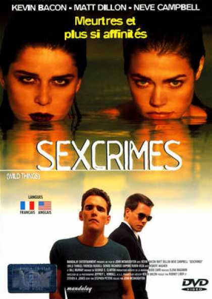 French DVDs - Sexcrimes 1