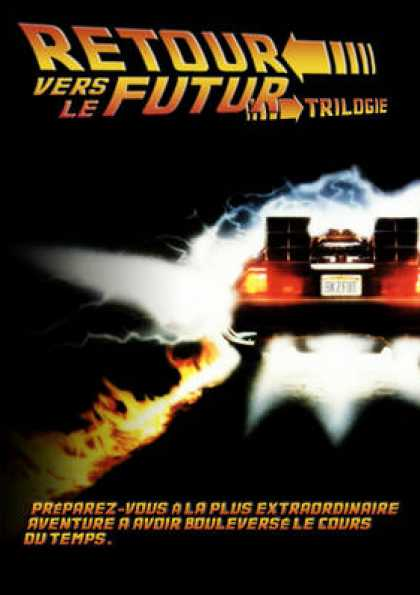 French DVDs - Back To The Future Trilogy