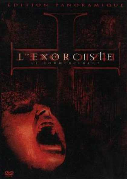 French DVDs - The Exorcist The Beginning