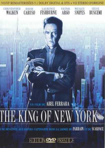 French DVDs - The King Of New York