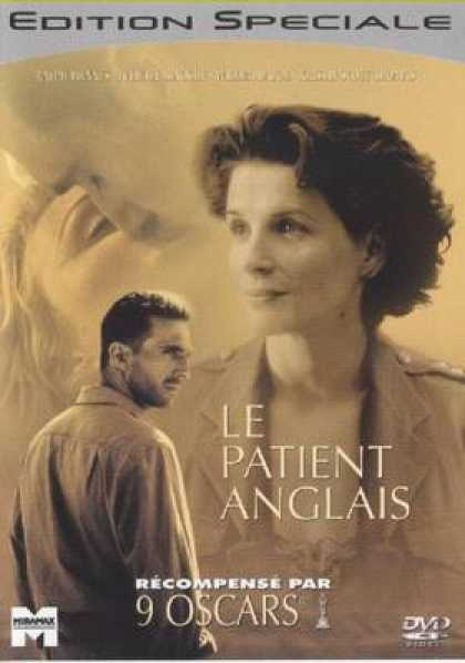 French DVDs - The English Patient
