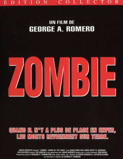 French DVDs - Zombie