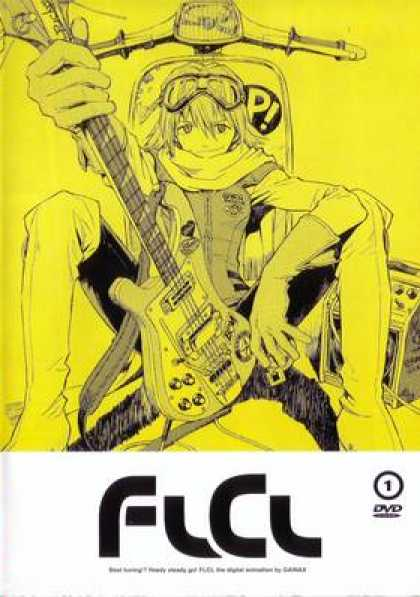 French DVDs - FLCL: Volume 1