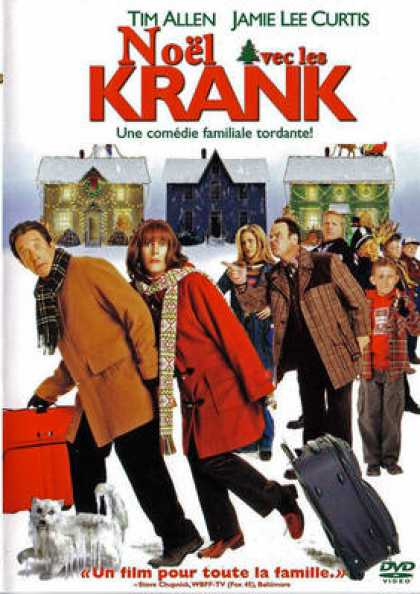 French DVDs - Christmas With The Kranks