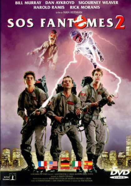 French DVDs - Ghostbusters 2 CE