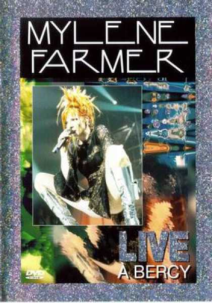 French DVDs - Mylene Farmer Live A Bercy -