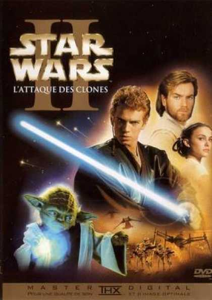 French DVDs - Star Wars Episode 2