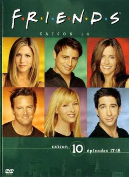 French DVDs - Friends Series 10