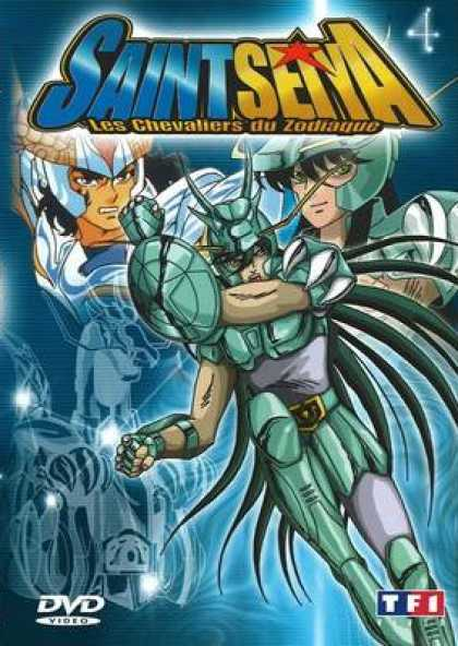 French DVDs - Saint Seiya Volume 04