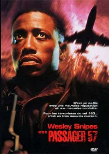 French DVDs - Passenger 57