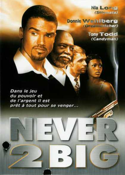French DVDs - Never 2 Big