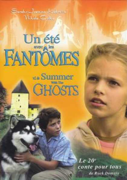 French DVDs - Summer With The Ghosts
