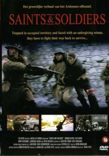 French DVDs - Saints And Soldiers