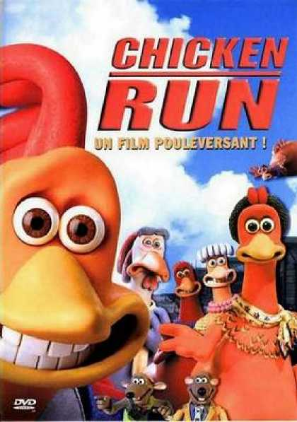 French DVDs - Chicken Run Special