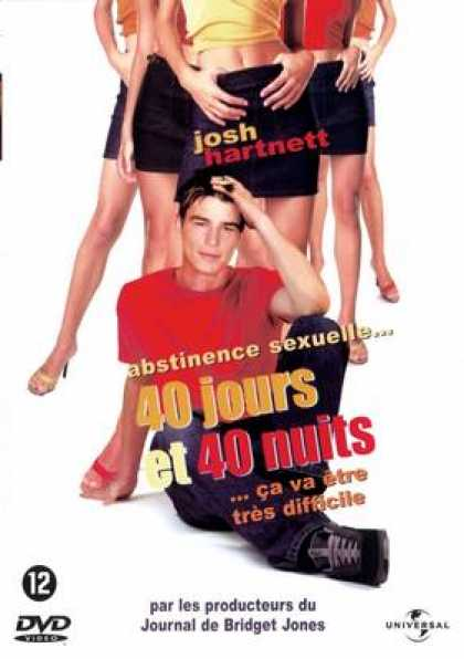 French DVDs - 40 Jours Et 40 Nuits