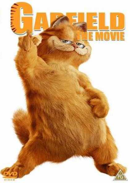 French DVDs - Garfield The Movie