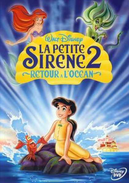 French DVDs - The Litle Mermaid 2