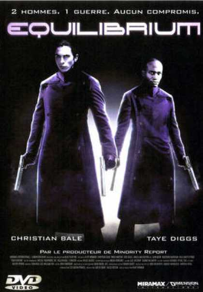 French DVDs - Equilibrium