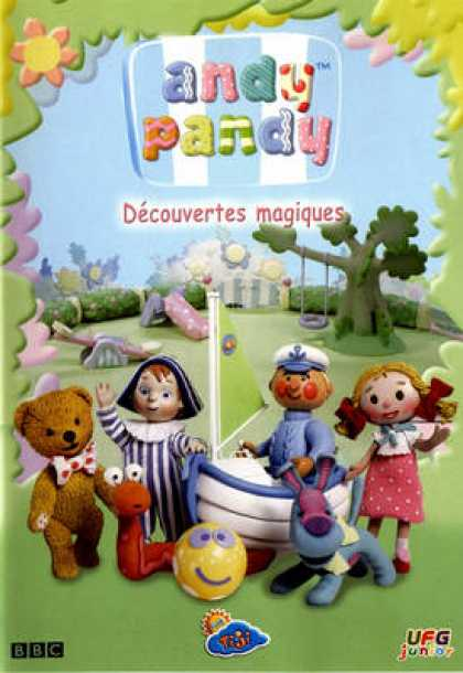 French DVDs - Andy Pandy Decouvertes Magiques