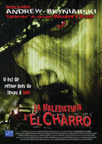 French DVDs - The Curse Of El Charro