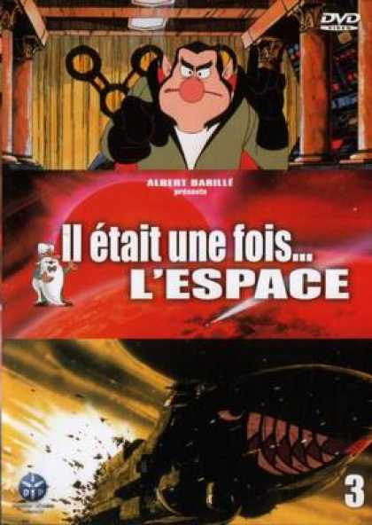 French DVDs - Once Upon A Time There Was Space Vol 3