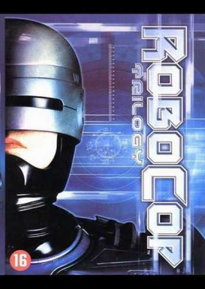 French DVDs - The Robocop Trilogy