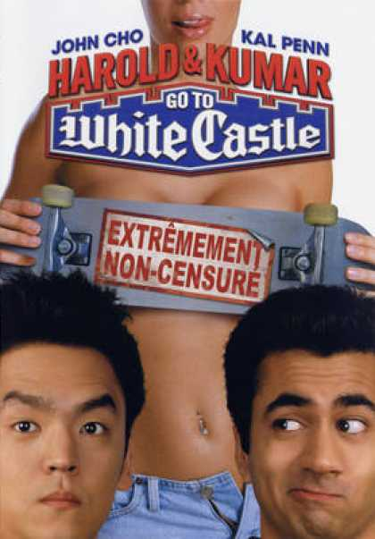 French DVDs - Harold And Kumar Go To White Castle