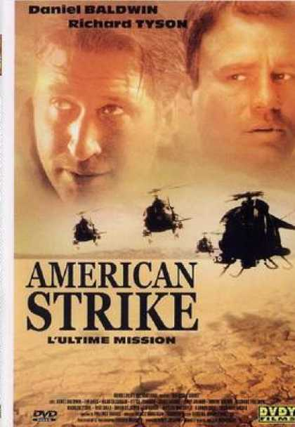 French DVDs - American Strike