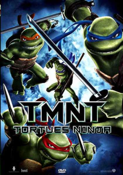 French DVDs - TMNT