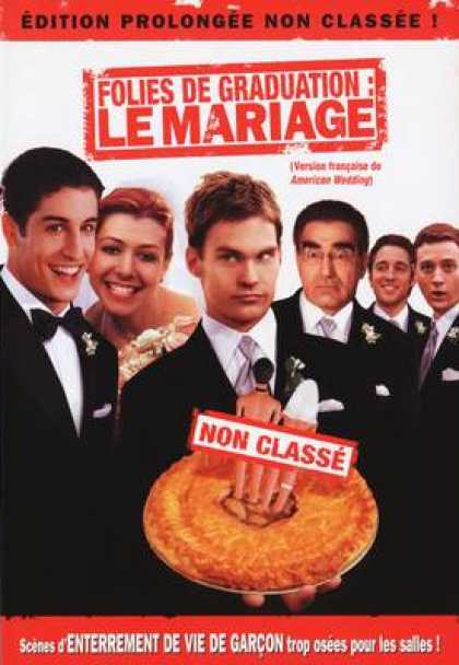 French DVDs - American Wedding