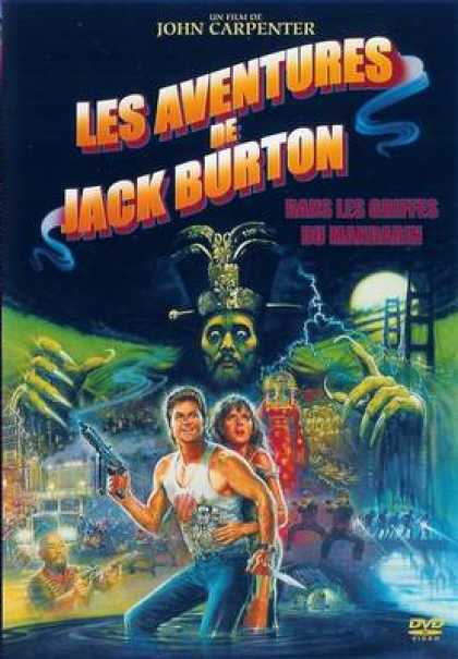 French DVDs - Big Trouble In Little China